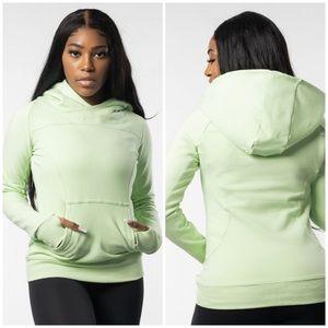 BuffBunny Neon Green Excel Power Hoodie Jacket